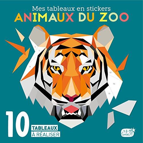 Mes tableaux en stickers - Animaux du zoo
