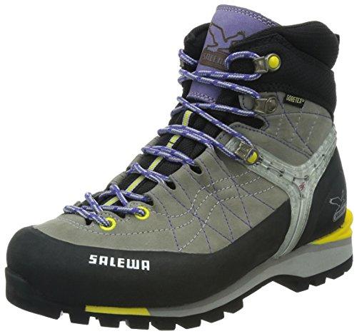 SALEWA Damen WS RAPACE GTX Trekking- & Wanderstiefel, Grau (0408_Grey/Yellow), 38 EU Gtx Mountaineering Boot