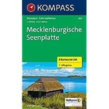 Mecklenburgische Seenplatte: Wanderkarten-Set. GPS-genau. 1:60000 (KOMPASS-Wanderkarten, Band 865)
