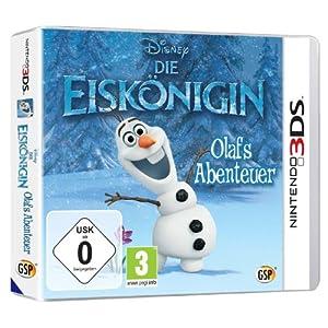 Disney Die Eiskönigin: Olafs Abenteuer – [Nintendo 3DS]