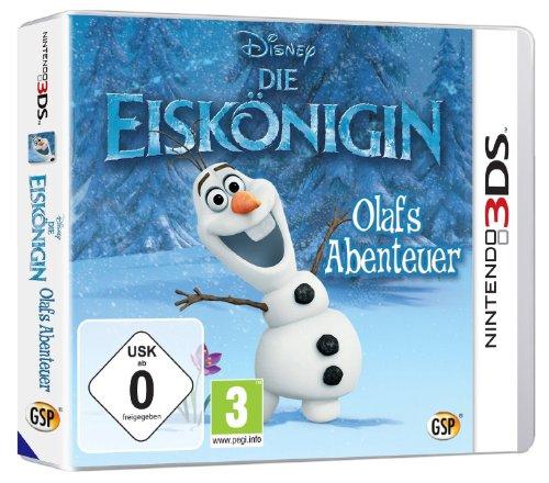 Disney Die Eiskönigin: Olafs Abenteuer - [Nintendo 3DS]
