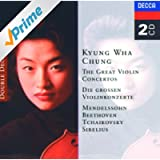 The Great Violin Concertos - Mendelssohn, Beethoven, Tchaikovsky, Sibelius (2 CDs)