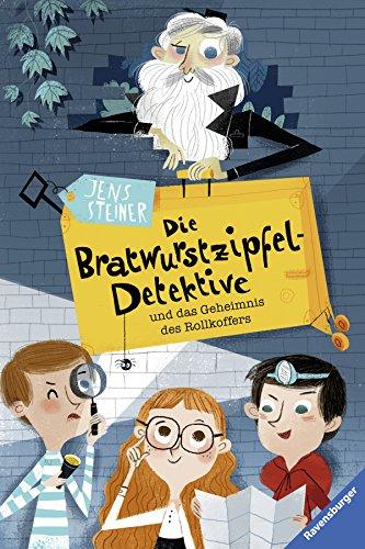Detektive und das Geheimnis des Rollkoffers (Kleinkind Themen Geburtstag Junge)