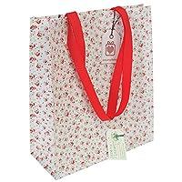 Reusable Eco-friendly Shopper Bags - Choice Of Floral Design ( dotcomgiftshop branded La Petite Rose )