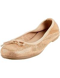 Marco Tozzi Premio Mädchen 42404 Geschlossene Ballerinas, Pink (Rose Metallic), 36 EU
