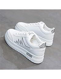 Mcho & ff Calzado Casual, Zapatos, Zapatos Blancos, Zapatos para Correr, Plateado