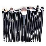 WANGSAURA® Pro Cosmetic Makeup 20pcs Brushes Set Powder Foundation Eye shadow Eyeliner Lip Brush Tool Bild