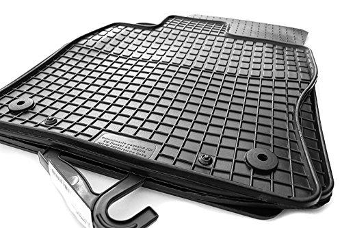 Gummi Fußmatten VW Passat B8 ab 2014- Original Qualität Auto Gummimatten 4-teilig schwarz