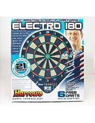 Harrows Eric Bristow's Softip Electronic 180 Cible de fléchettes électronique Noir 44 cm