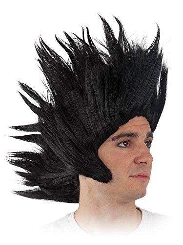 DISBACANAL Peluca Goku Pinchos - Negro