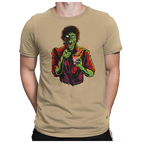 Kostüme Tick (PAPAYANA - DANCE-ZOMBIE - Fun T-Shirt Kurzarm - Halloween Es Horror Saw Music Kostüm Movie Michael - , L,)