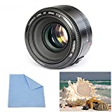 Yongnuo YN50mm F1.8 AF/MF Large Aperture Auto Focus Standard Prime Camera Lens For Canon EOS Rebel Camera