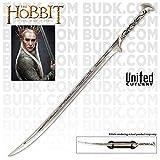 Der Hobbit Thranduils Schwert Dekoschwert 1:1 Filmreplik mit Wandplatte