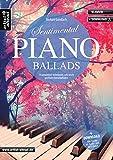 Sentimental Piano Ballads: 14 romantisch-verträumte, sehr leicht spielbare Klavierballaden (inkl. Download). Gefühvoll-emotionale Klavierstücke. Spielbuch. Songbook. Musiknoten.