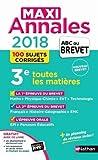 Maxi Annales ABC du BREVET 2018 (30)