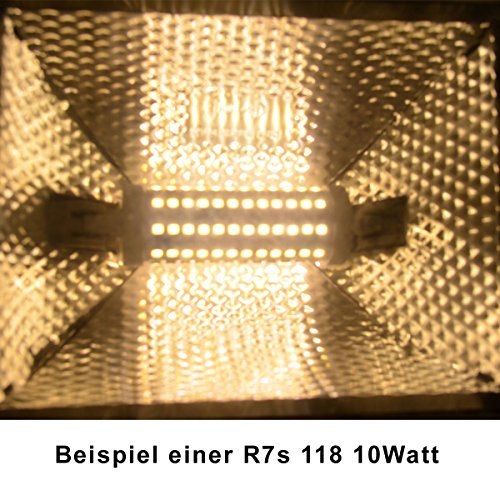 R7s LED 10 Watt dimmbar – warmweiß – 3000K - 9