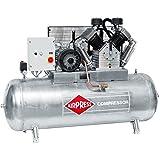 Airpress® ölgeschmierter Druckluft-Kompressor GK2000-500 SD (11 kW,11 bar,500l Kessel, 400 Volt) Kolben-Kompressor