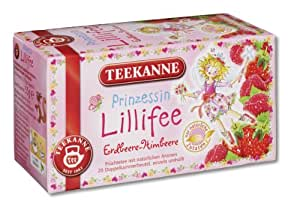 Teekanne Prinzessin Lillifee, 3er Pack (3 x 20 Teebeutel)
