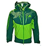 adidas Herren Gore-Tex Pro Outdoor Jacke Terrex IceFeather Jacket (UK-32-34-D-42-F-156, grün)