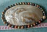 FidgetGear Halskette mit Barockperlen, 10-11 mm, Mehrfarbig, 45,7 cm