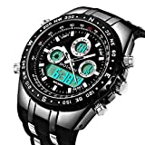 Best Watches - Men's Sport Watches Analog-Digital Military Waterproof Big Face Review