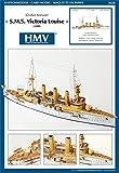 HMV 3028 Cardmodel Heavy Cruiser SMS Victoria Louise