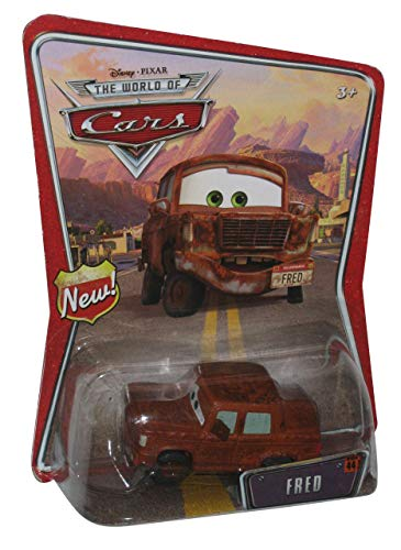 Fred Disney Pixar Cars Mattel World of Cars Background Card With