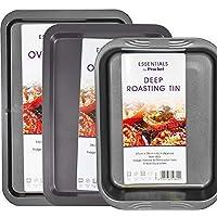 Mastronics Premium Bakeware Triple Pack - Set of 3 Carbon Steel Baking Trays