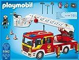 PLAYMOBIL 5362 - Feuerwehr-Leiterfahrzeug mit Licht und Sound Vergleich