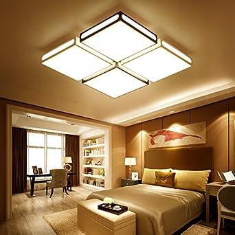 TIANLIANG04 Plafoniere Soggiorno, luce LED, rettangolare camera da ...