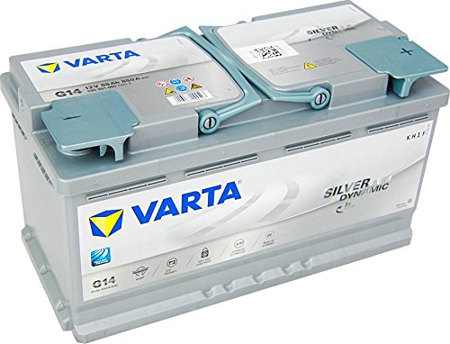 Varta 595901085D852 Silver Dynamic AGM Autobatterie 12 V 95 Ah