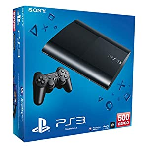 PlayStation 3 – Konsole Super Slim 500 GB (inkl. DualShock 3 Wireless Controller)