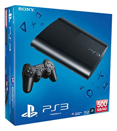 PlayStation 3 - Konsole Super Slim 500 GB (inkl. DualShock 3 Wireless Controller) (Ps3 Konsolen)