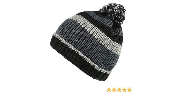 e521affcf Regatta Mens Davion Knitted PomPom Acrylic Warm Walking Bobble Hat