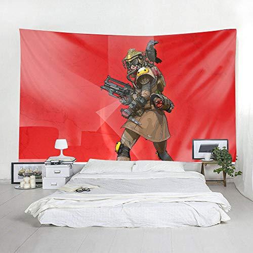 Qliyt arazzi e tappezzeria forest tapestry wall hanging beach mat poliestere coperta picnic coperta tovaglia agriturismo per camera da letto soggiorno dorm decor