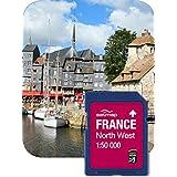 SATMAP Carte: France Nord-Ouest 1:50k