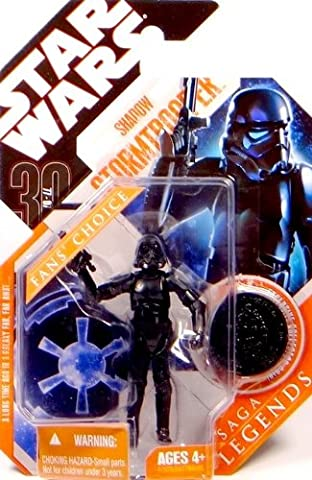 Imperial Shadow Stormtrooper - Star Wars 30th Anniversary Saga Legends Collection 2008 von Hasbro