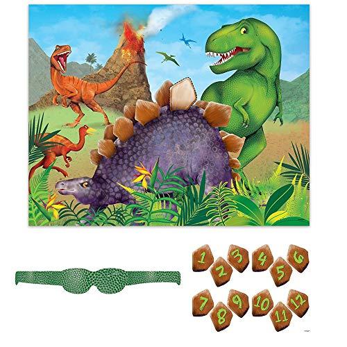 Geburtstagspartyzubehör Dinosaurier