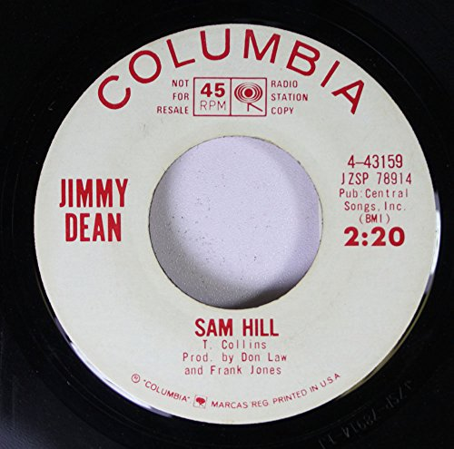 jimmy-dean-45-rpm-sam-hill-when-i-grow-too-old-to-dream