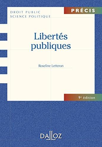 Libertés publiques - 9e éd.: Précis