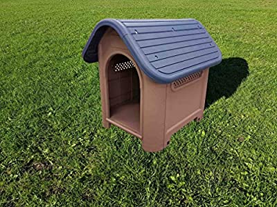 Pet Living Indoor/Outdoor Plastic Dog Kennel (GB mainland only) from Denny International®