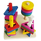 Best Educational Toys For Toddlers - Trinkets & More - Geometric Shape Sorter Toys Review