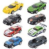 Mini RC Ferngesteuertes Auto Racing Car Spielzeug in der Getränkedose 1:58(farblich sortiert)