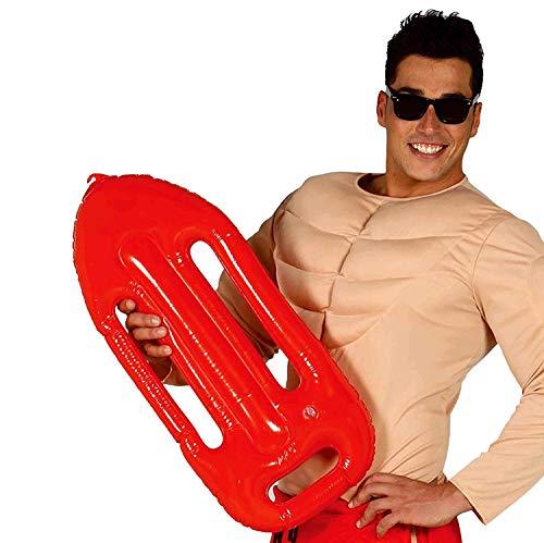 Guirca Fiestas GUI18422 - aufblasbarer Rettungsring (Lifeguard Kostüm Zubehör)
