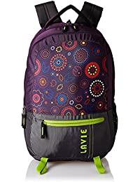 Lavie Purple Laptop Backpack (BHEI552037B3)