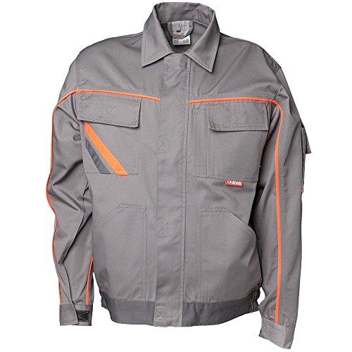 Planam visline v2 hoffman blouson noir/orange Zinc/Orange/Ardoise