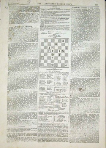 old-original-antique-victorian-print-chess-problems-and-solutions-1876-83maa0