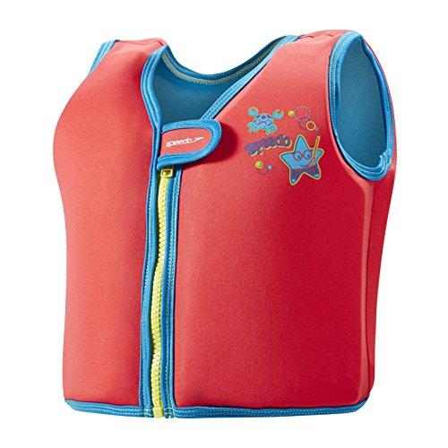 Speedo Baby Sea Squad Swim Vest Accessoires, Lava Red, 2-4 Jahre