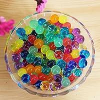 1000 granos de jalea perlas de gel de agua original de bala Piezas de agua de