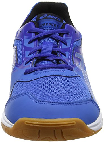 Asics Upcourt 2, Chaussures Multisport Indoor Homme Bleu (Classic Blue/silver/asics Blue 4293)